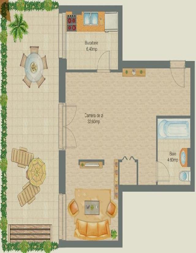 Inchiriere apartament 2 camere TITAN (Piata Trapezului)