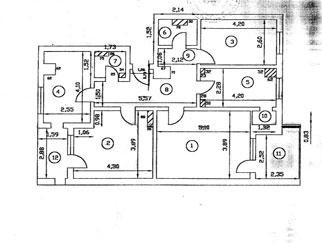 Particular vand apartament 4 camere Pantelimon