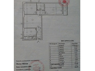 Proprietar vand apartament 3 camere Floreasca zona Dinamo