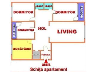 Particular vand apartament 4 camere Dristor