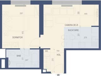 VANZARE apartament 2 camere TITAN – 1 Decembrie imobil nou
