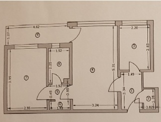 Particular vand apartament cu 2 camere metrou Lujerului