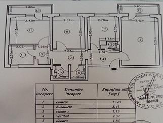 Particular vand apartament cu 3 camere pe Bd. Banul Manta