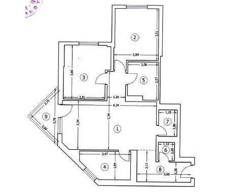 Vanzare apartament 3 camere Doamna Ghica / Heliade intre Vii, blocul Planorama