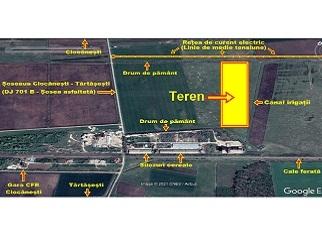 Terenuri de vanzare in extravilan agro-industrial Ciocanesti Dambovita