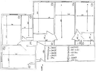 Vanzare apartament 4 camere DIHAM Bulevardul Basarabia
