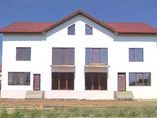 Vanzare vila constructie 2008 cu interior la rosu CORBEANCA