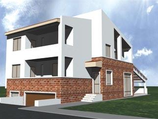 Vila constructie 2009 cu toate finisajele de vanzare in MILITARI