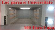 Inchiriere loc parcare Universitate